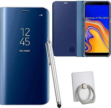 Guran® Mirror Efecto Espejo Funda para Samsung Galaxy J4+ / J4 ...