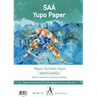 Yupo Painting Paper 25 loose sheets A4 85gsm 296 x 210mm