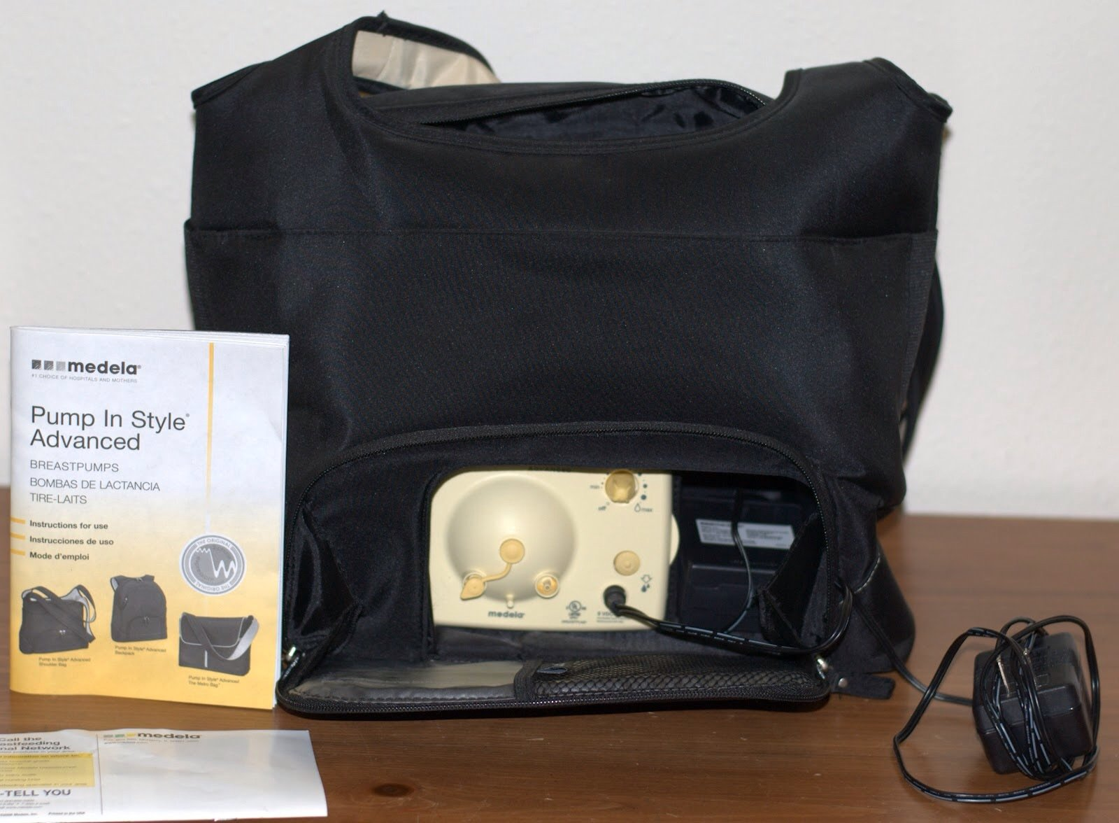 Medela Electric Breastpump - Pump In Style Advanced On-the-Go Tote Set w/ Free Accessories