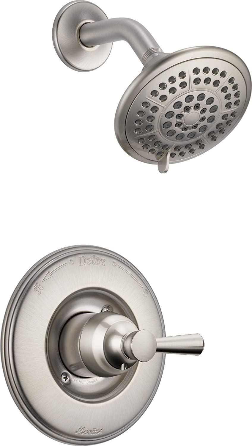 Delta Faucet T14293 SS Monitor 14 Series Shower Trim, Stainless      Amazon.com