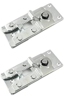 Ordinaire Two (2) Metal Couch / Sofa Snap Style Sectional Connector With Screws