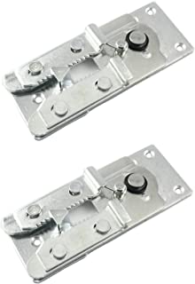 Two (2) Metal Couch / Sofa Snap Style Sectional Connector with Screws  sc 1 st  Amazon.com : sectional sofa connectors - Sectionals, Sofas & Couches