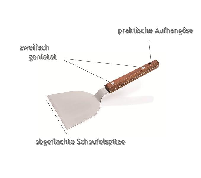 Compra Kerafactum® - Espátula para Hamburguesa filetes y Ribs ...