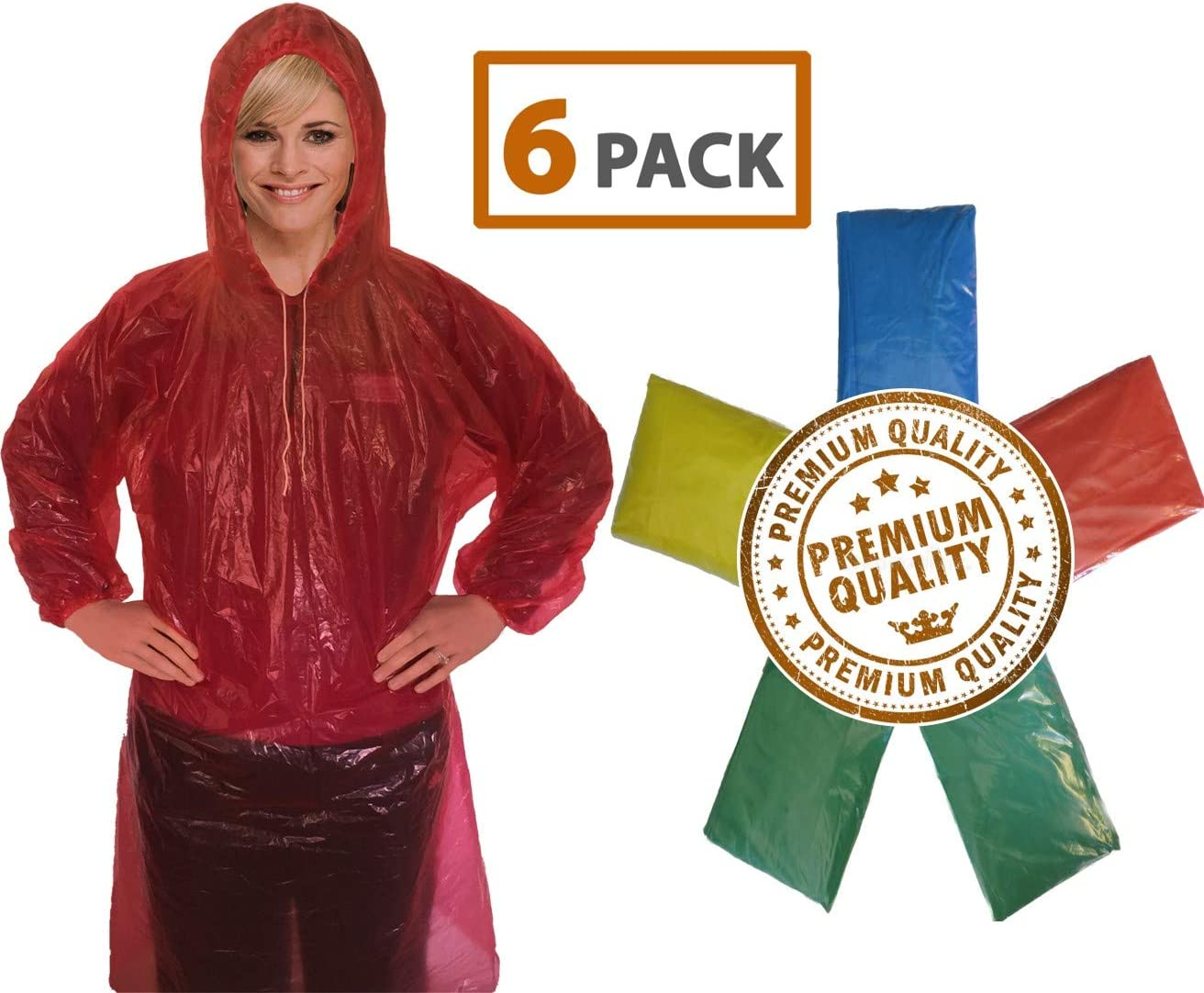 White, X-Large FEDULK Disposable Rain Ponchos Clothing Suit Anti-Oil Stain Waterproof Outdoor Emergency Antistatic Raincoat Gown Robes