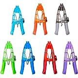 Kizmos Magnetic Multipurpose Bag Clips, Set of 7, Multicolored