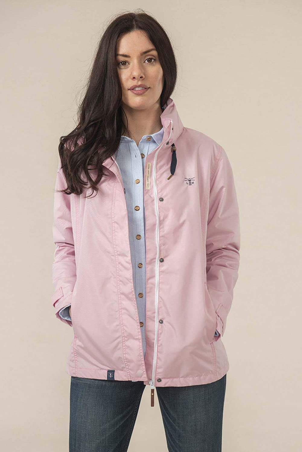 LightHouse - Womens Beachcomber Jacket Rose Pink