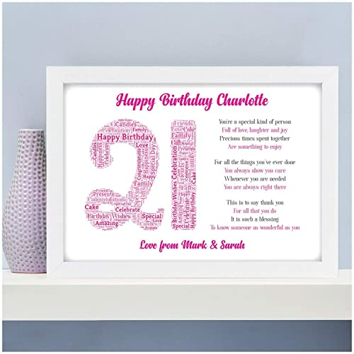 Personalised Birthday Gifts For Her Girls Mum Daughter Sister