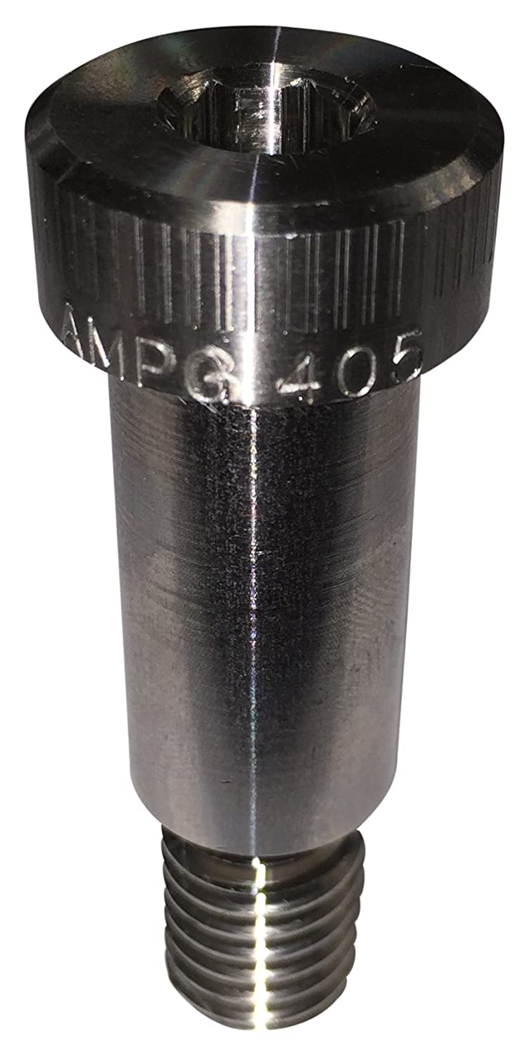 Meets ASME B18.3 Hex Socket Drive Alloy 405 Monel Shoulder Screw 1//4 Shoulder Diameter #10-24 Thread Size 5//8 Shoulder Length Standard Tolerance Socket Head Cap