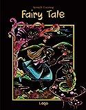 [ラゴデザイン] スクラッチカラーリング 子供用 フェアリーテイル Scratch Coloring_Fairy Tale
