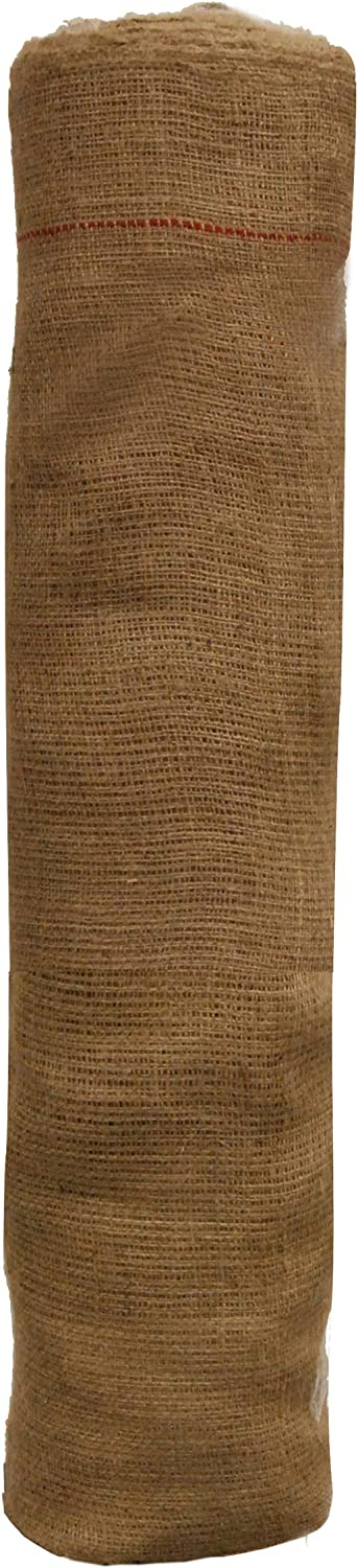 Easy Gardener 3103 3x150 Natural Burlap Weed Barrier Fabric, 3'X150', 3 ft X 150 ft Tan