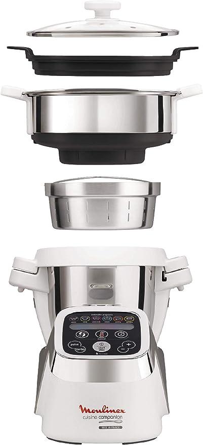 Moulinex Cuisine Companion Robot de cocina + Accesorio Vapor ...