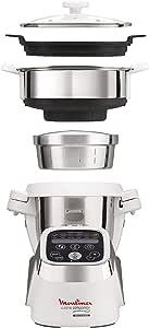 Moulinex Cuisine Companion Robot de cocina + Accesorio Vapor: Amazon.es: Hogar