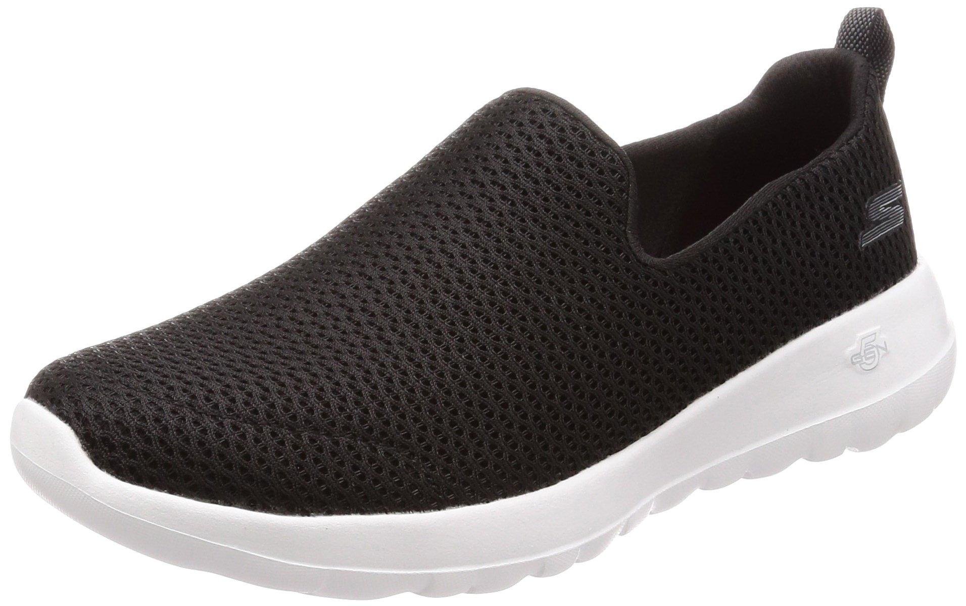 Skechers Performance Women's Go Walk Joy Walking Shoe,black/white,5 M US by Skechers (Image #1)