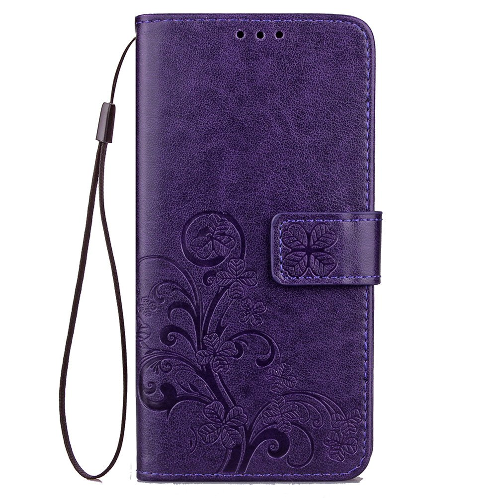 Samsung Galaxy A5 2017 Case A5 2017 Cover EMAXELER Embossing Stylish Wallet Cover Kickstand Credit Cards Slot Cash Pockets PU Leather Flip Wallet For ...