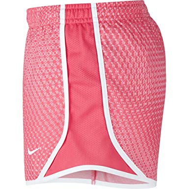 0ca30f6cd Amazon.com: NIKE Girl's Dry Micro Master Printed Tempo Shorts: Clothing