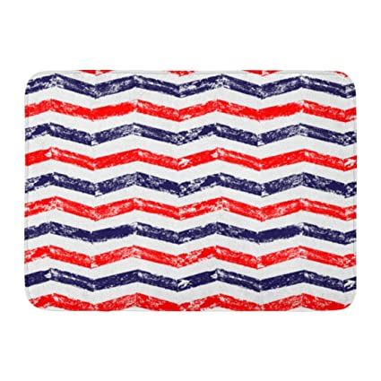 Amazon.com: colory Doormats Bath Rugs Outdoor Mat Navy ...
