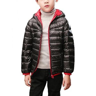 3795deb0e Amazon.com  Zando Children Thin Lightweight Puffer Jacket Boys Down ...