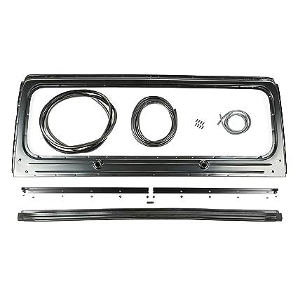 Amazon.com: Omix-ADA 12006.13 Windshield Frame Kit (87-95 Jeep ...