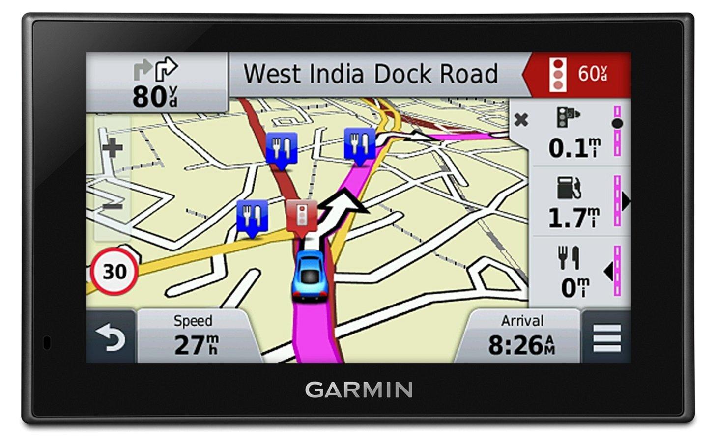 Garmin Nuvi LMTD Sat Nav Inch Free Lifetime Map Updates - Garmin maps for united kingdom