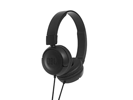 97706d411d6 JBL T450 On-Ear Headphones with Mic (Black): Buy JBL T450 On-Ear Headphones  with Mic (Black) Online at Low Price in India - Amazon.in