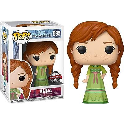 Funko Pop! Disney Frozen 2 Anna Exclusive Vinyl Figure #595: Toys & Games