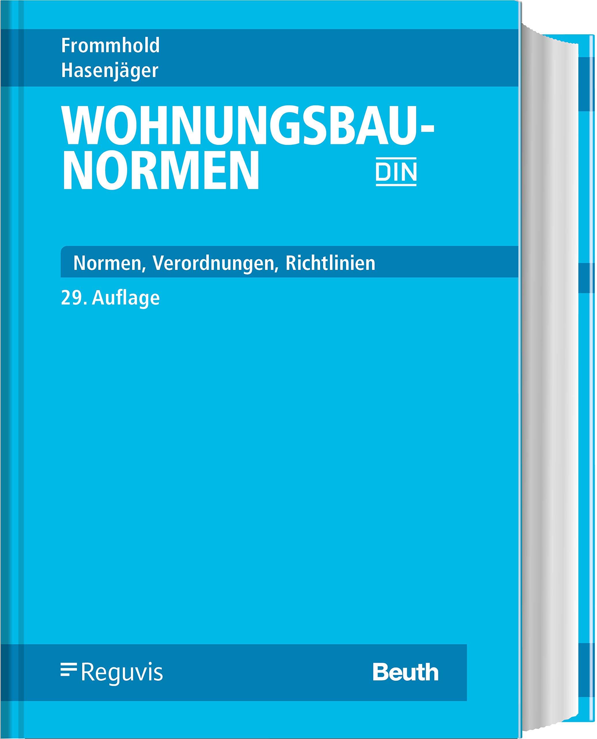 Die besten Bücher für Architekten: Wohnungsbau-Normen: Normen - Verordnungen - Richtlinien