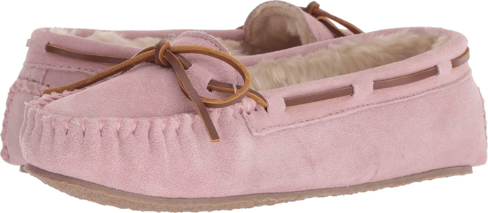 Minnetonka Womens Cally Slipper, Pink Blush, Size 6