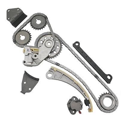 Amazon.com: MOCA Timing Chain Kit Gear for 96-03 Suzuki Sidekick Esteem & Suzuki Vitara SX4 & 99-03 Chevrolet Tracker 1.8L 2.0L 2.3L 16V J20B J18A: ...