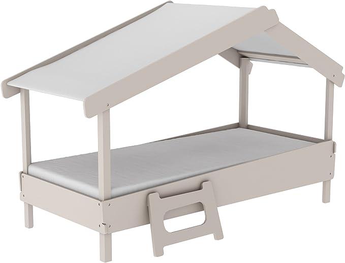 Miroytengo Cama Infantil Forma de casa o cabaña diseño Original ...