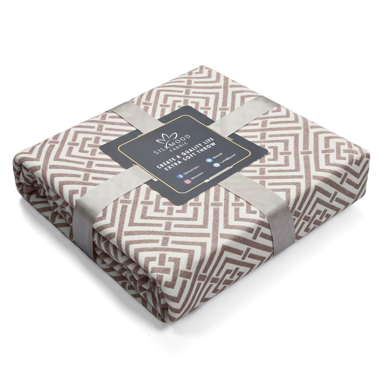 ac0746da6 Amazon.com  Silkmood Adult Baby Blanket 3 Layer A Level 100% Cotton ...