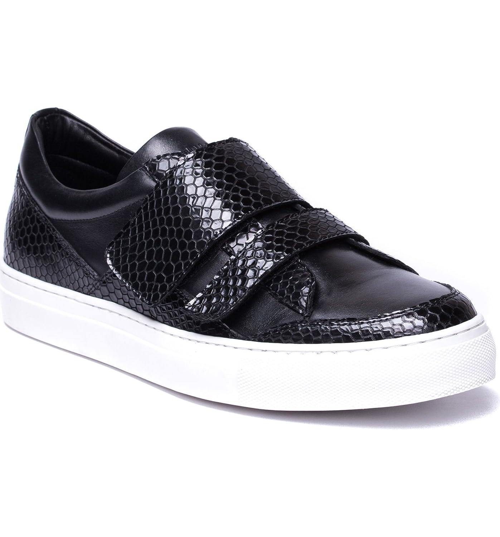 [ヤレドラング] メンズ スニーカー Jared Lang Luke Double Strap Sneaker (Me [並行輸入品] B07C2QMBVD