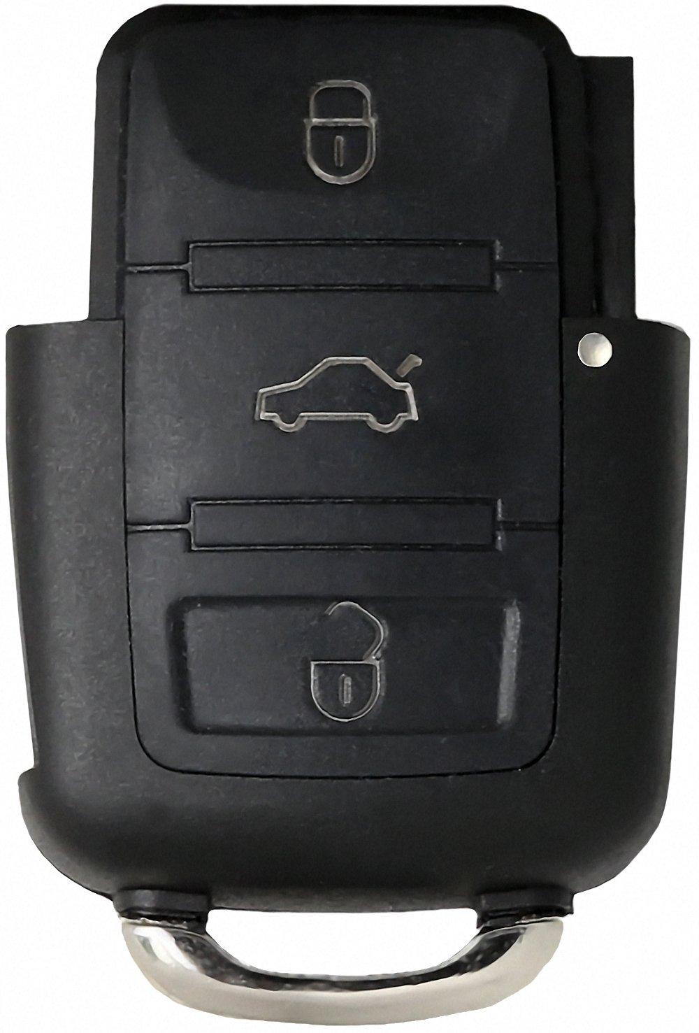 Volkswagen Llave * Volkswagen Carcasa para Llave de 3 Botones ...