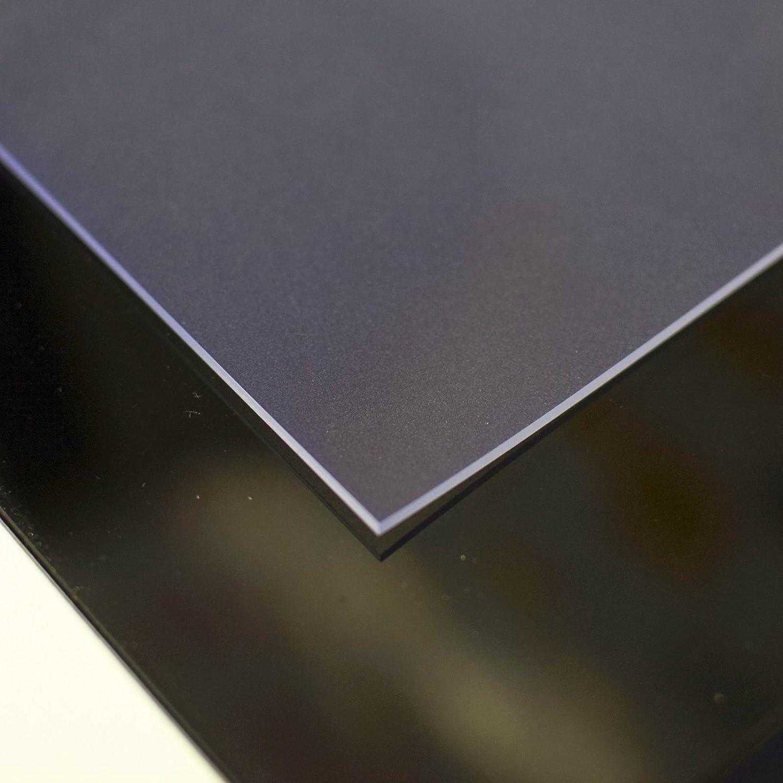 ANRO Tischdecke Schutzfolie Tischschutz Folie 2mm einseitig mattiert 100cm x 330cm