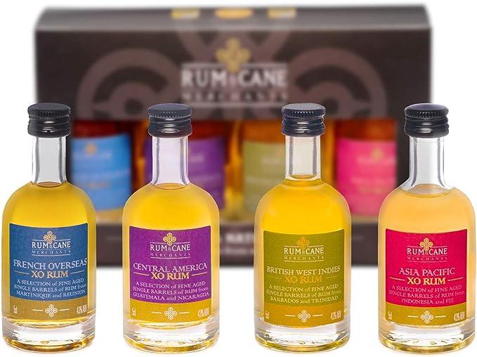 Rum Explorer Pack by Rum & Cane Merchants - 4 x 5cl miniature ...