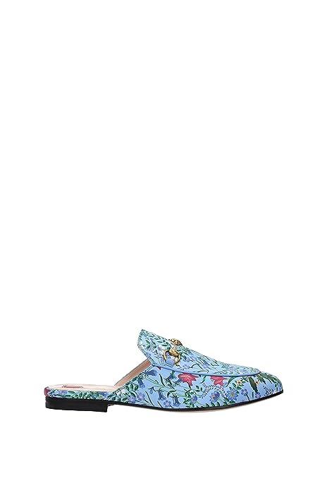 Zapatillas sin Cordones Gucci Mujer - Tejido (432773K7F10) EU: Amazon.es: Zapatos y complementos