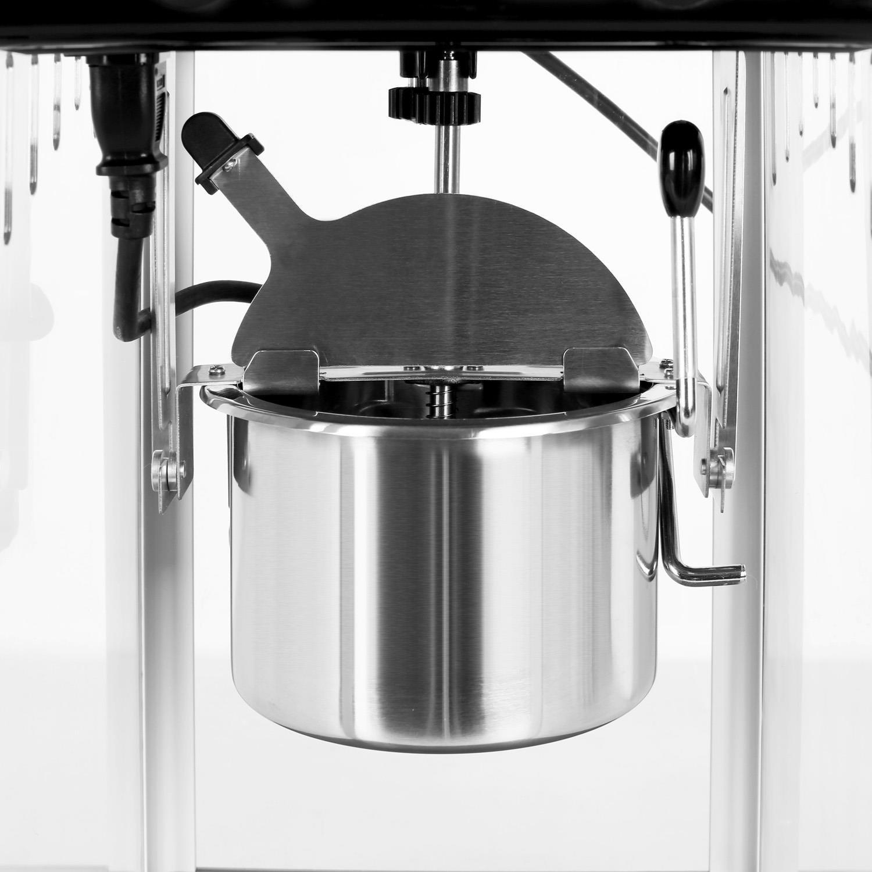 Klarstein Volcano • máquina de palomitas de maíz • retro • palomitero • 300 W • extraíble • iluminación interior • aprox. 60 l/h • puerta con cerradura ...