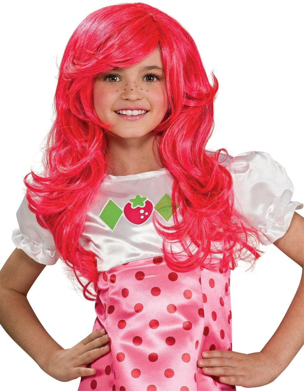 Strawberry Shortcake Wig Costume Accessory by Rubie's (Image #1)