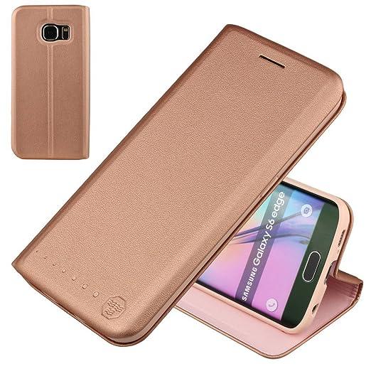 11 opinioni per Nouske Carte Fessura Custodia per Samsung Galaxy S6 Edge/Flip Wallet Book