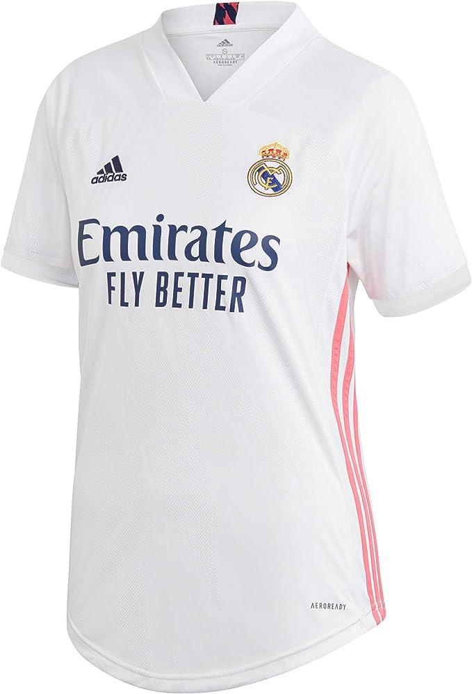 adidas Real H JSY W Camiseta Primera equipación, Mujer ...