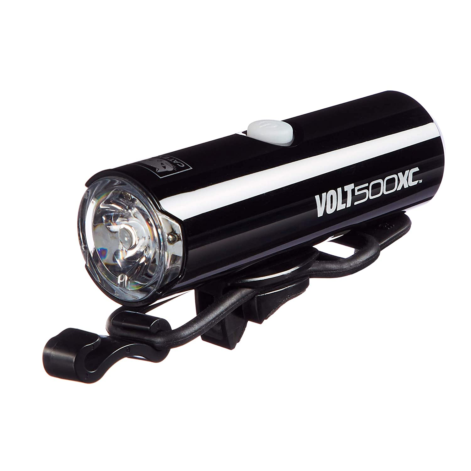 CAT EYE Volt 500XC Rechargeable Bike Light and Rapid X2 Rechargeable Rear Bike Light