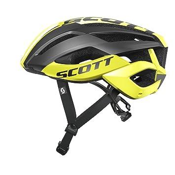 Scott Arx Plus Bicicleta de carreras Casco Para Bicicleta negro 2016 - Yellow/Negro,