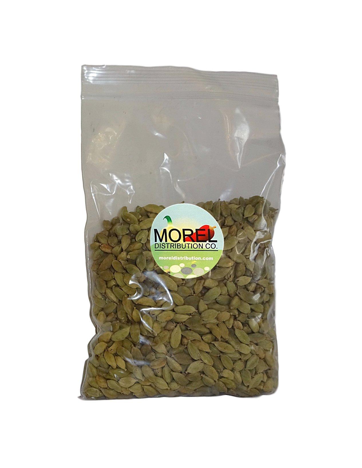 Whole Cardamom Pods/Seeds (Cardamomo) (1 oz, 2 oz, 4 oz, 6 oz, 8 oz, 12 oz, 1 lb, 2 lbs) (8 OZ) by Morel Distribution Company (Image #2)