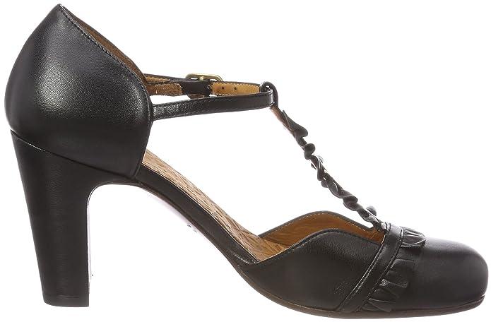 Chie Mihara Damen Quietly T-Spangen Pumps, Schwarz (Maitai Negro), 35 EU:  Amazon.de: Schuhe & Handtaschen