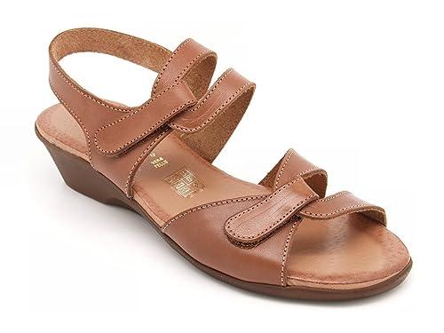 Valleverde sandali chiusura con strappi - (Numero 39)