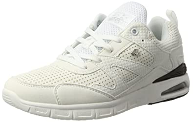 Womens Demon Trainers, White British Knights