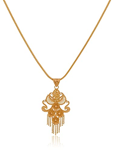 Buy senco gold 22k yellow gold pendant online at low prices in india senco gold 22k yellow gold pendant mozeypictures Choice Image