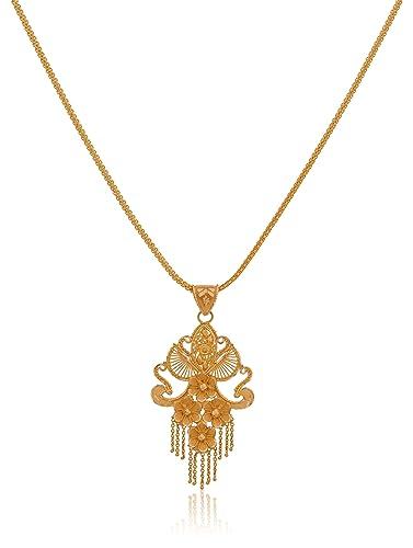 Buy senco gold 22k yellow gold pendant online at low prices in india senco gold 22k yellow gold pendant aloadofball Images