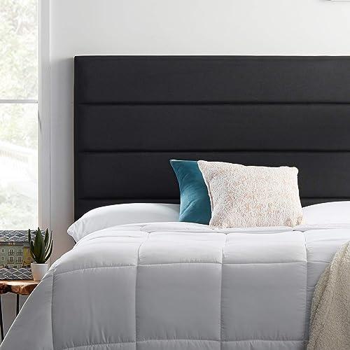LUCID Modern Upholstered Horizontal Tufted Headboard