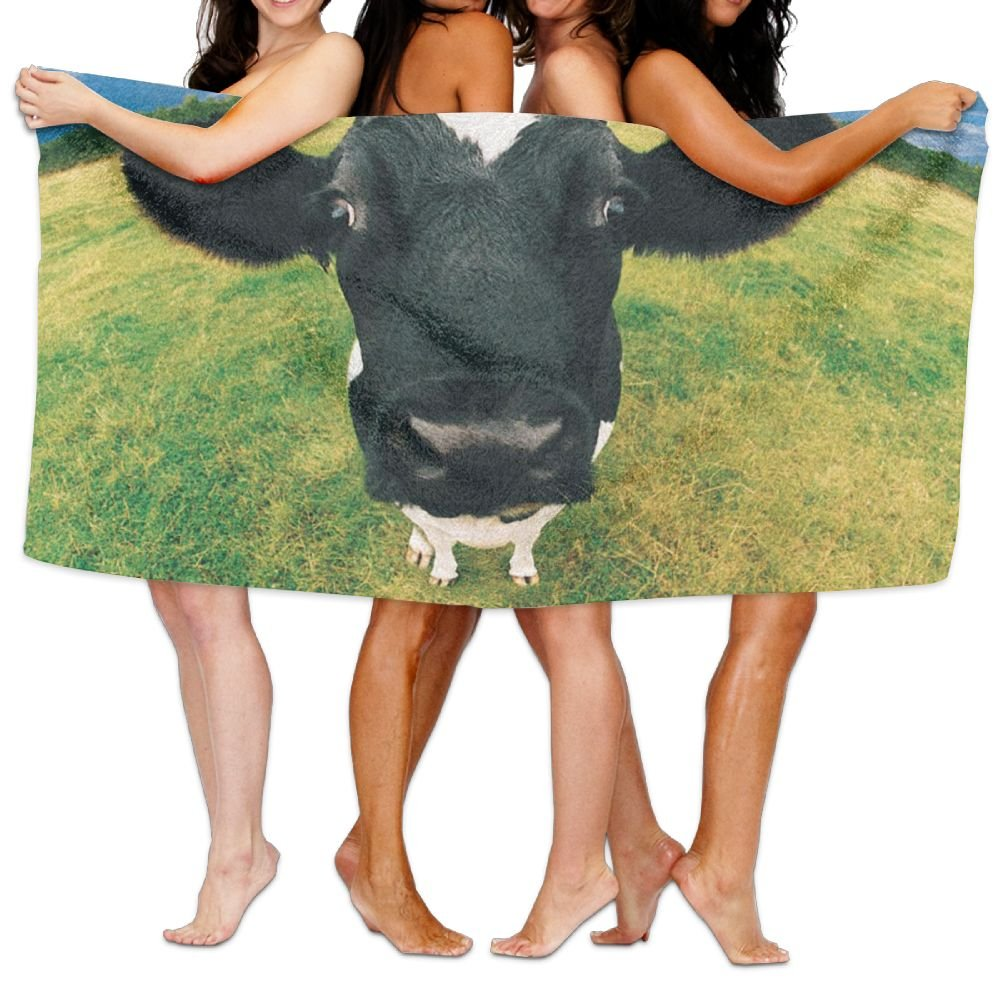 KTMB Funny Farm Animals Washable Extra Large Bath Beach Towel Soft Personality Towel