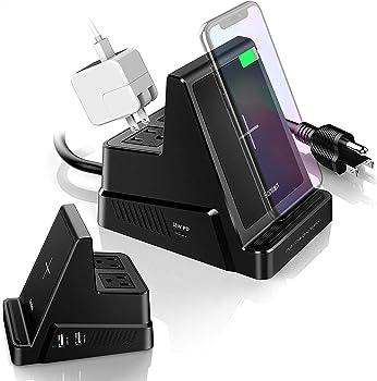 Bonlion Qi 10W 6 in 1 Wireless Charging Station
